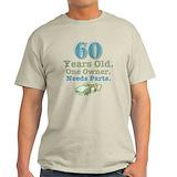 60th birthday Mens Light T-shirts