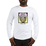 Anime Merle Smooth Collie Long Sleeve T-Shirt