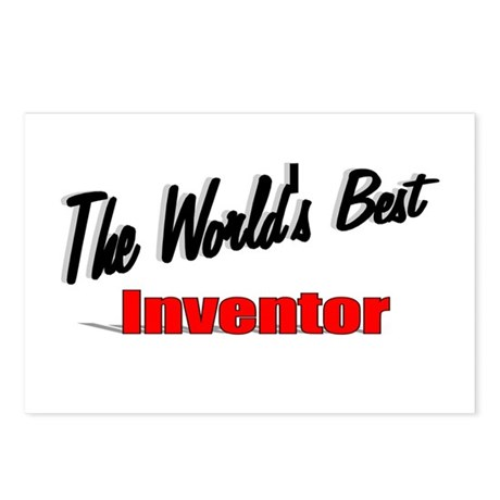 """The World's Best Inventor"" Postcards (Package of"