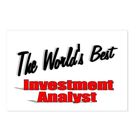 """The World's Best Inventment Analyst"" Postcards (P"