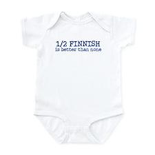 Half Finnish Infant Bodysuit