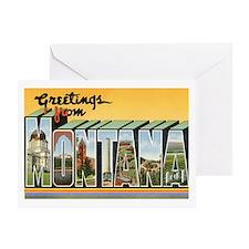 MONTANA MT Greeting Card