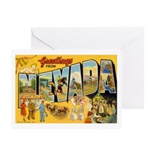 NEVADA NV Greeting Card