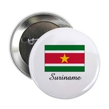 "Suriname Flag 2.25"" Button"