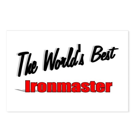 """The World's Best Ironmaster"" Postcards (Package o"