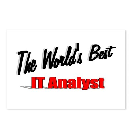 """The World's Best IT Analyst"" Postcards (Package o"