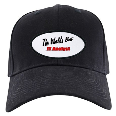 """The World's Best IT Analyst"" Black Cap"