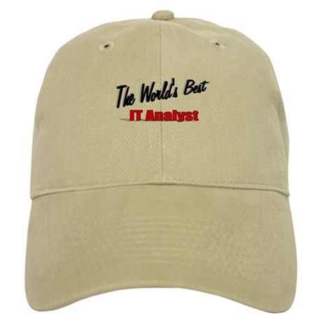 """The World's Best IT Analyst"" Cap"