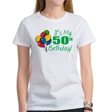 It's My 50th Birthday (Balloons) Tee