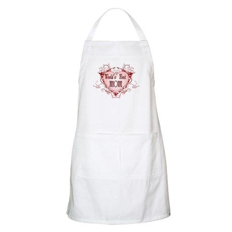 World's Best Mom Mothers Day BBQ Apron