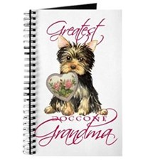 Yorkie Grandma Journal