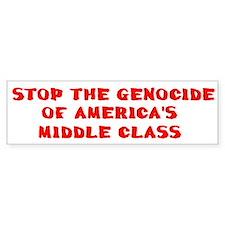 American Genocide Bumper Bumper Sticker