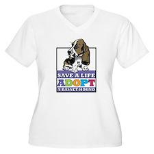 Basset Hound Rescue T-Shirt