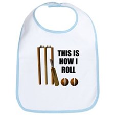 This is How I Roll Cricket Bib