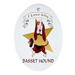 Basset Hound Keepsake (Oval)