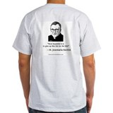 St. Josemaria T-Shirt (grey): &quot;How Beautiful&quot;