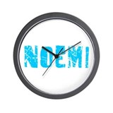 Noemi Faded (Blue) Wall Clock
