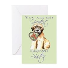 Wheaten Sister Mother's Day Greeting Card