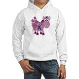 Blue Awareness Ribbon Goofkins Pegasus Jumper Hoody