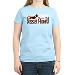 Basset Hound Women's Pink T-Shirt
