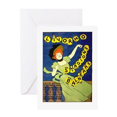 Livorno Greeting Card