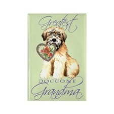 Wheaten Grandma Rectangle Magnet
