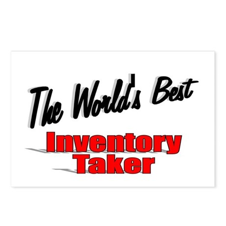 """The World's Best Inventory Taker"" Postcards (Pack"