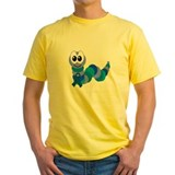 Blue Awareness Ribbon Goofkins Caterpillar T