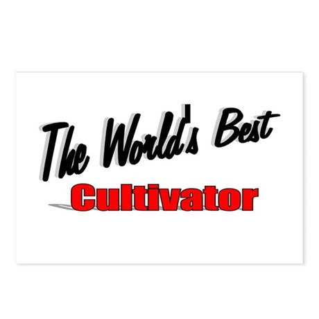 """The World's Best Cultivator"" Postcards (Package o"