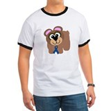Blue Awareness Ribbon Goofkins Bear T