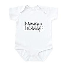 """Relax...I'm A Sociologist"" Infant Bodysuit"