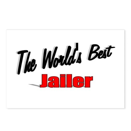 """The World's Best Jailer"" Postcards (Package of 8)"