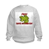 Frog trapped in a human body Sweatshirt