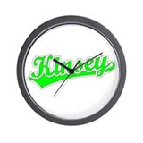 Retro Kinsey (Green) Wall Clock