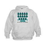 Teal Frogs 1 Hoody