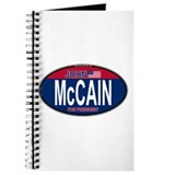 McCain RW&B Oval Journal