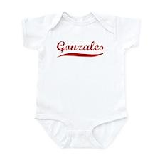 Gonzales (red vintage) Infant Bodysuit