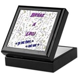 Break a Leg Keepsake Box