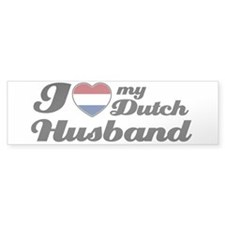 I love my Dutch Husband Bumper Bumper Sticker