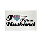 I love my Fijian Husband Rectangle Magnet (100 pac