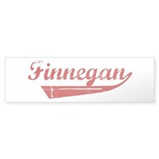 Finnegan (red vintage) Bumper Sticker (50 pk)