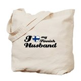 I love my Finnish Husband Tote Bag