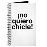 No Chicle Journal