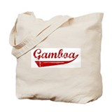Gamboa (red vintage) Tote Bag