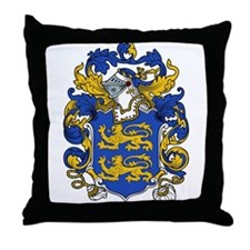Berkley Family Crest Throw Pillow