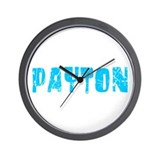Payton Faded (Blue) Wall Clock