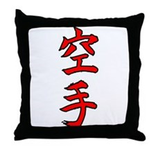 KARATE Throw Pillow