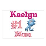 Kaelyn - #1 Mom Postcards (Package of 8)