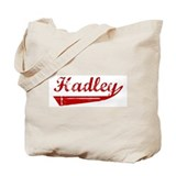 Hadley (red vintage) Tote Bag