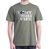 I Love My Finnish Wife T-Shirt